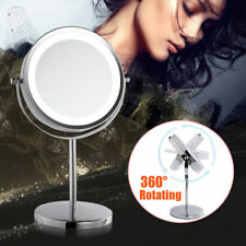 5x Magnifying Cosmetic Mirror Beauty Bathroom Double Side with LED Light