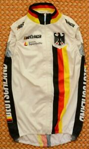 Germany, Deutschland Cycling Vest by Bio Racer, Size Adult 2, Small