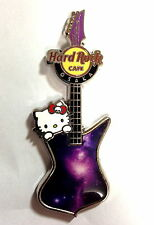 Hard Rock Cafe OSAKA 2014 Hello Kitty Space Guitar Pin LE200