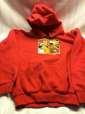 Angry Birds Star Wars Hoodie - Red - Child Size YS - Front Pouch