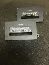 AMC Jeep OEM Factory AM FM Radio Faceplate Lot Of 2 - AMX Eagle Pacer Wagoneer