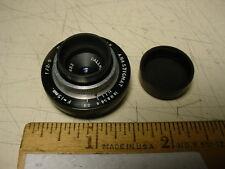 Dallmeyer vintage Anastigmat triple lens f2.9/15mm.  'C' mount