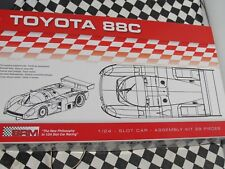 BRM TOYOTA 88C ASSEMBLY KIT CAR  1:24 SLOT BRAND NEW IN BOX