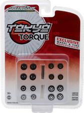 Greenlight 1/64 Tokyo Torque Wheel & Tire Pack Hobby Exclusive 13163