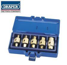 DRAPER Tools 5 PEZZI cervelli Spina Chiave Set 9mm11mm12mm13mm17mm HEX & Square 56627