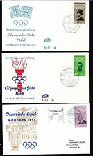 Briefmarken mit Motiven als Satz aus der Bundesrepublik