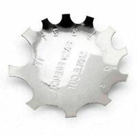 Edge Trimmer Easy French SMILE CUT Schablone für Acryl Modellage Pro C7B4 A G9H8
