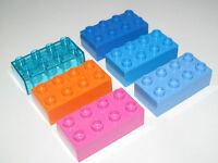 Lego Duplo ® Brique Construction 2x4 Brick Choose Color ref 3011