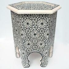 Moroccan Arabic Tea Table Oriental Side Table Ankbuta 52cmx44cm
