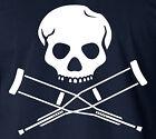 Johnny Knoxville JACKASS LOGO 100% Ringspun T-Shirt MTV Teen Skater Steve-O Tee