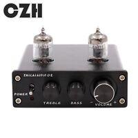 TUBE PREAMP ZHILAI MINI Stereo 6J1 Valve Audio Preamplifier  Bass HIFI Buffer