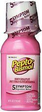 Pepto-Bismol Original AntiDiarrheal, Upset stomach Liquid - 4 Oz