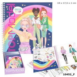 Depesche TOPModel Dress Me Up Stickerbook (10452)
