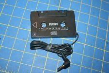 Rca Car Stereo Cassette Tape Adapter For Mp3 Or Cd Player Model 5-4097B