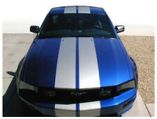 """2005-2009  Ford Mustang  22"""" Rally Racing Double Bumper to Bumper Stripes Decals"""
