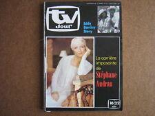 TV JOUR 80/33 (13/8/80) EDDIE BARCLAY STEPHANE AUDRAN MARLENE JOBERT FRANCE GALL