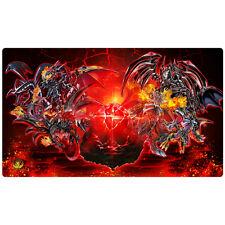 FREE SHIPPING Yugioh Playmat Play Mat Black Stone of Legend Red-Eyes CORE-EN021
