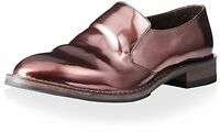 BRUNELLO CUCINELLI Bronze Leather Loafers Size 9.5 US / 39.5 EU