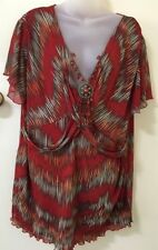 Autograph Nylon Short Sleeve Casual Tops & Blouses for Women