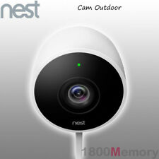 Nest Cam Outdoor 1080p HD Wireless Security Camera White 2 Way Audio Ip65 Wi-fi