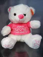 Schutzengel Teddy Bär rosa Geburt Plüschtier Kuscheltier Tier Stofftier Geschenk