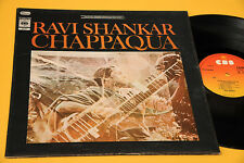 RAVI SHANKAR LP CHAPPAQUA ITALY 1977 EX+ GATEFOLD COVER