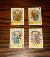 JERSEY MINT STAMPS 2.11.1993 CHRISTMAS