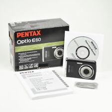 Pentax Optio E60 Digitalkamera - 10.1 Megapixels - 3 fach optischer Zoom