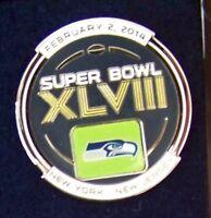 2014 SB Super Bowl 48 XLVIII pin Seattle Seahawks