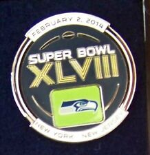 2014 SB Super Bowl 48 XLVIII pin Seattle Seahawks