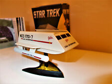 Star Trek original series shuttle craft with lights and display stand 2016