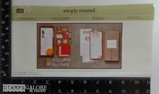 Stampin Up Rubber Stamps Simply Created Kit The Perpetual Birthday Calendar