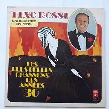 tino rossi Les plus belles chansons des années 30    2C064 15641