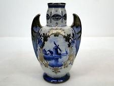 "Keramik Vase ""Plateelbakkerij P.B.D."" 1909 Niederlande Design A. J. Visser W"