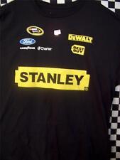 Marcos Ambrose Stanley / No.9 Uniform NASCAR Black T-Shirt