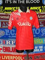 4.5/5 Napoli adults L 1991 away football shirt jersey trikot maglia soccer