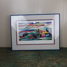 Thierry Boutsen, Benetton Formula 1, Randy Owens, Signed, 30 /120, 1988, Frame