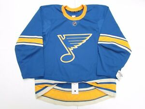 ST. LOUIS BLUES AUTHENTIC NEW THIRD TEAM ISSUED REEBOK EDGE 2.0 7287 JERSEY