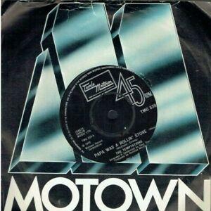 THE TEMPTATIONS PAPA WAS ROLLIN' STONE 45 MOTOWN 1972