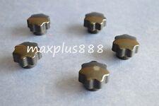 New listing 10Pcs M8*40 Male Thread Black Star Head Screw Knob Handle