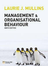Management and Organisational Behaviour Plus Sealed Access Code