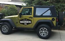 07-09 Jeep Wrangler JK 2 Door Replacement Tinted Windows & Soft Top Special Buy!