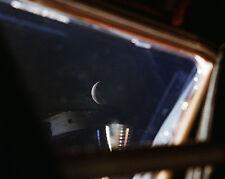 APOLLO 13 VIEW OF MOON FROM LUNAR MODULE 8x10 SILVER HALIDE PHOTO PRINT