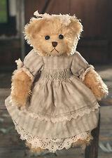 Teddy Bear 'Alexandra' Settler Bears Handmade Green Dress Collectable Gift 38cms