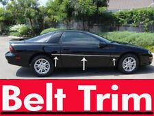 Chevy CAMARO Z28 CHROME SIDE BELT TRIM DOOR MOLDING 1993 - 2002