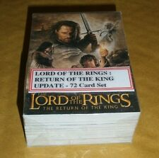 LOTR - THE RETURN OF THE KING - 72 CARD MOVIE UPDATE SET (2003)