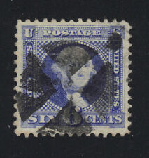US #115 Used 6c Washington Pictorial - Beautiful Centering for the 6-center