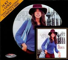 * SEALED * AUDIO FIDELITY 24KT GOLD CD / DISC - NO SECRETS - CARLY SIMON NUMBER#