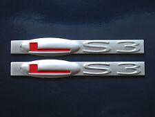 C6 Corvette Pontiac G8 GXP Camaro SS LS3 Engine Fender Badge Pair (3 colors)