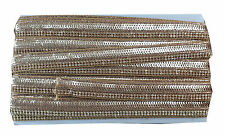 Lace Border Trim Saree Craft Ribbon Sequins n Stone 2in1 Inhika 9 mtr roll
